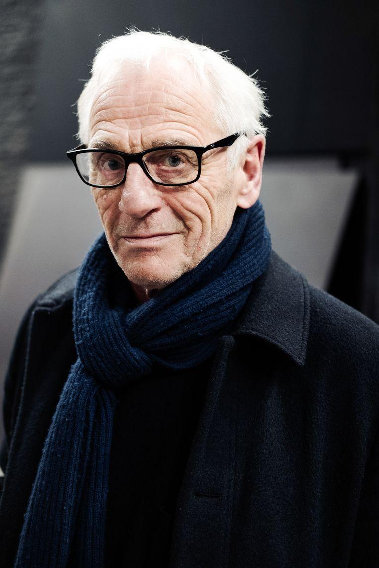 Johan leysen: 'De mensen in Mosoel zijn heel nieuwsgierig. Maar ze vinden het raar: wat is dat, een theatermaker?' Beeld Damon De Backer