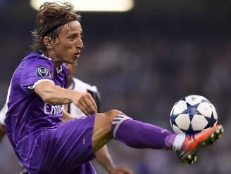 Luka Modric is voor vijfde jaar op rij beste voetballer van Kroatië