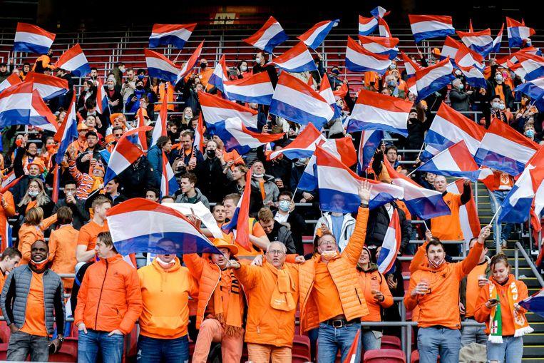 De Pro League zoekt steun bij de test met publiek in Amsterdam. Beeld Photo News