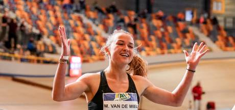 Bredase meerkampster Myke van de Wiel bij NK indoor snelste over 200 meter