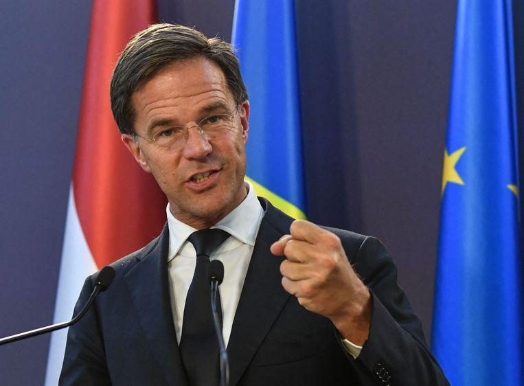 Mark Rutte Beeld AFP