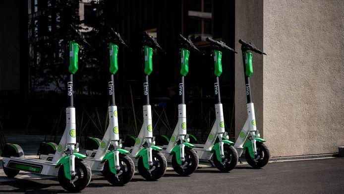 Elektrische deelsteps van Lime komen naar Antwerpen.