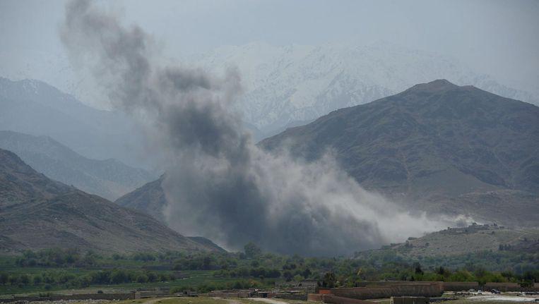 De VS is het enige land dat nog luchtaanvallen uitvoert in Afghanistan. Beeld afp