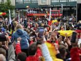 Les Red Lions accueillis en héros à Bruxelles