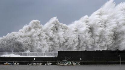 Zeker 6 doden en 170 gewonden door tyfoon Jebi in Japan: windsnelheden tot 220 km/u en  metershoge golven