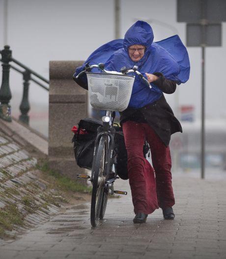 Paraplu vervangt parasol: na zonnig weekend komt de herfst eraan
