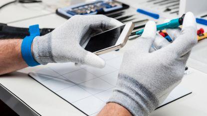 Repareren, niet recycleren: onze toestellen gaan te rap kapot