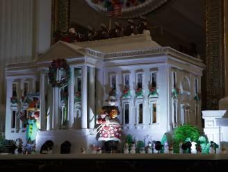 Michelle Obama heeft het Witte Huis voor de laatste keer aangekleed voor kerst en het is prachtig