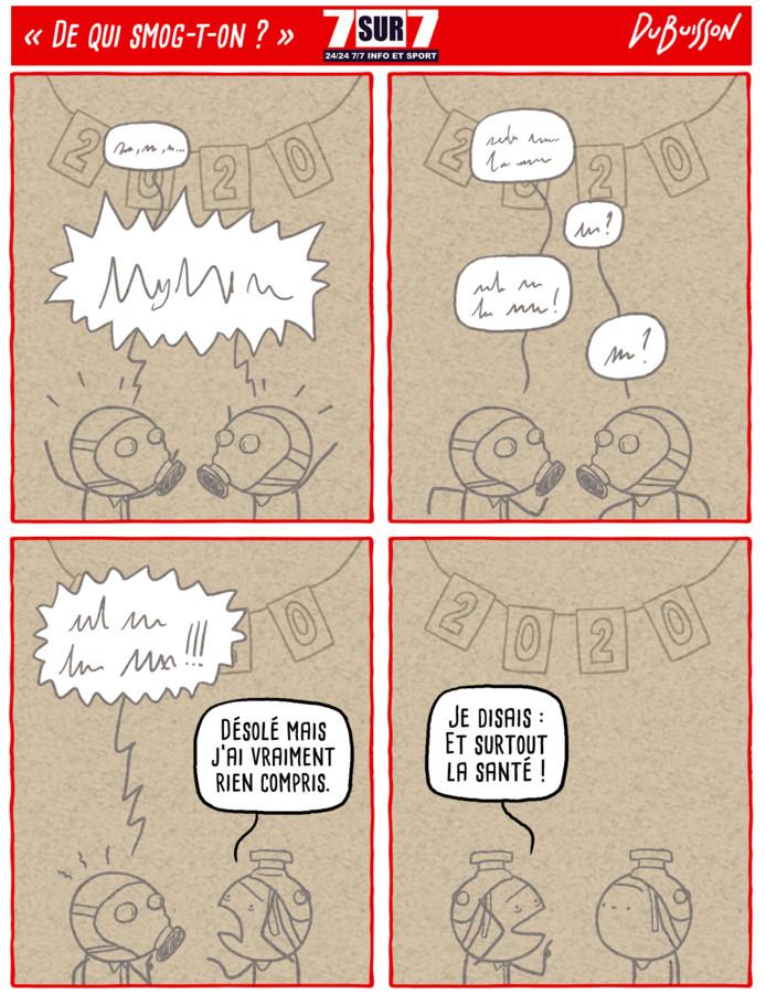 """De qui smog-t-on?"", 3 janvier 2020"