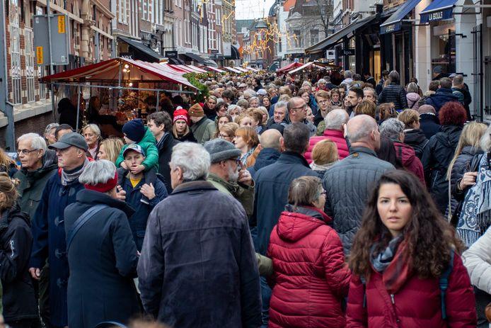 Drukte in Haarlem.