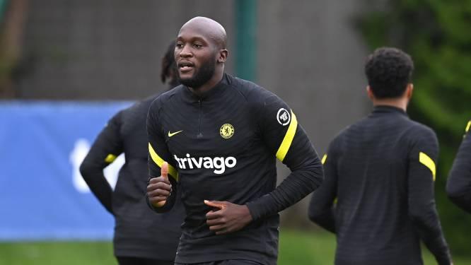 Romelu Lukaku traint eerste keer mee bij Chelsea