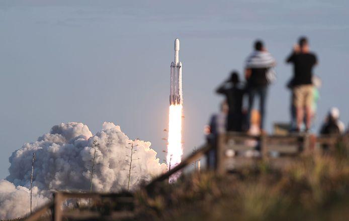 Beeld ter illustratie, SpaceX.