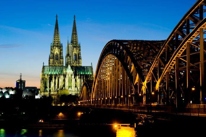 De imposante Dom van Keulen. De gastvrijheid van de Duitsers is opvallend.