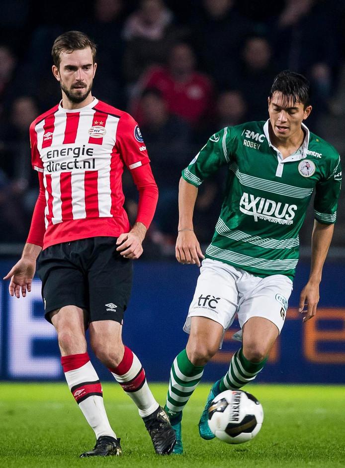 PSV en Sparta troffen elkaar zaterdag al in de competitie. De Eindhovenaren wonnen met 1-0.