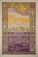 Groote Bloemententoonstelling in Boskoop in 1911.