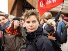 """Quelque 1.300 jeunes marchent pour le climat à Gand: """"Nous ne brossons pas les cours, nous manifestons avec un message très clair"""""""