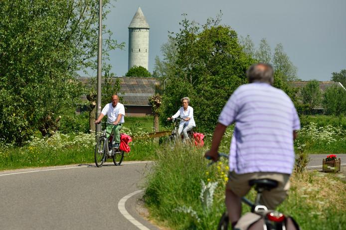 Buurtcomité Stichtse Meije vindt dat fietsers niet alleen overdag, maar ook 's avonds en 's nachts veilig over de Meije moeten kunnen blijven rijden.