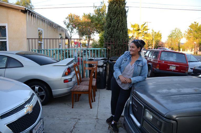 'Ik verloor mijn lievelingsbroer in december vorig jaar. En onze buurvrouw is er ook aan overleden.' Beeld Mari Meyer