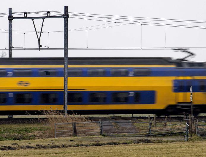 Ter illustratie: tussen stations Lelystad Centrum en Dronten is geen treinverkeer mogelijk in verband met een aanrijding.