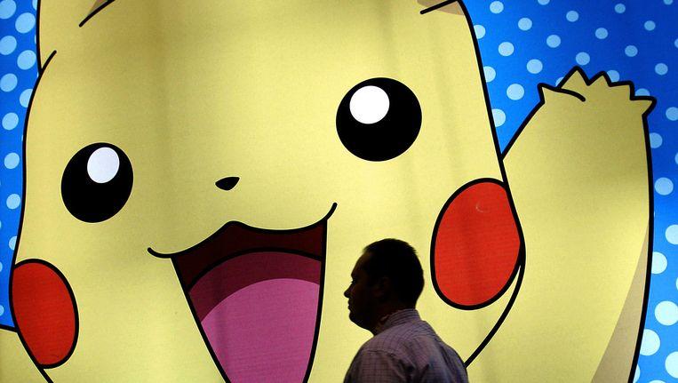 Een Pokémon-'booth' in Japan. Beeld afp