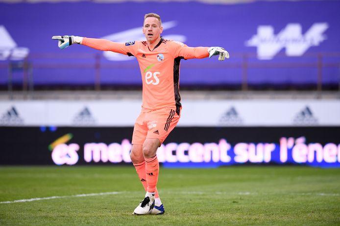 Matz Sels heroverde zijn basisplaats bij Strasbourg maar hoopt in deze fase niet op een EK-selectie.