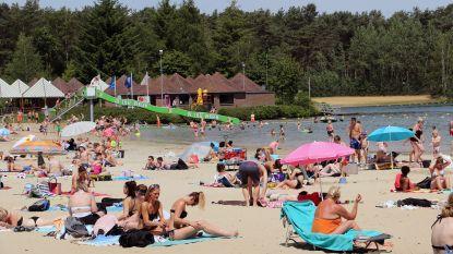 Zo warm was het: massa bezoekers op Lilse Bergen en De Mosten