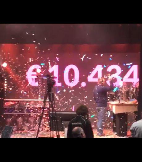 Opbrengst DJ's in actie: 10.000 euro voor lokale ondernemers en verenigingen