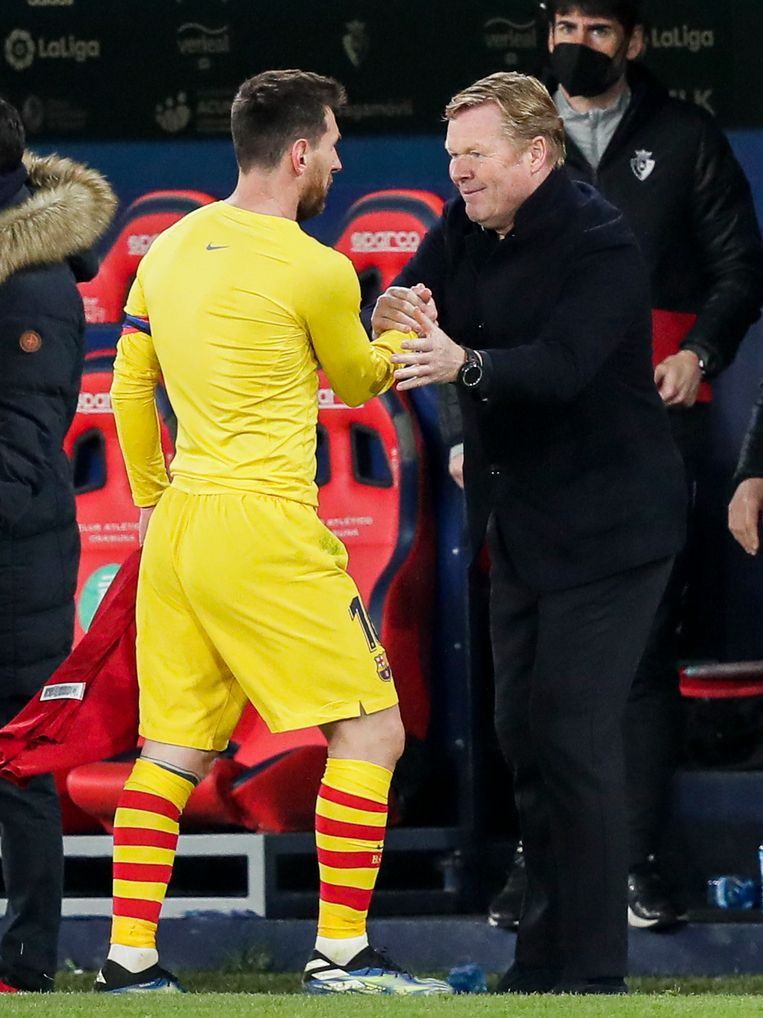 Lionel Messi is inmiddels alweer maanden in topvorm. Beeld Getty Images