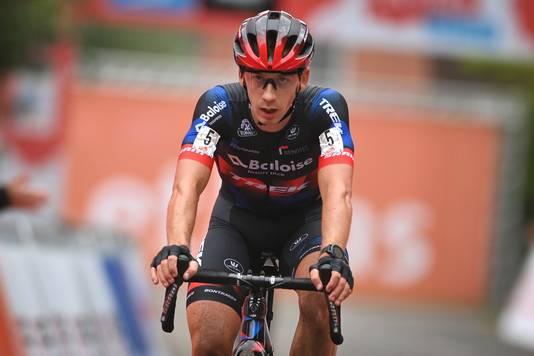 Lars van der Haar komt als tweede over de finish in de Rapencross.