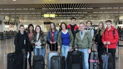 Sint-Vincentius stuurt zeven leerlingen op uitwisseling naar Lissabon