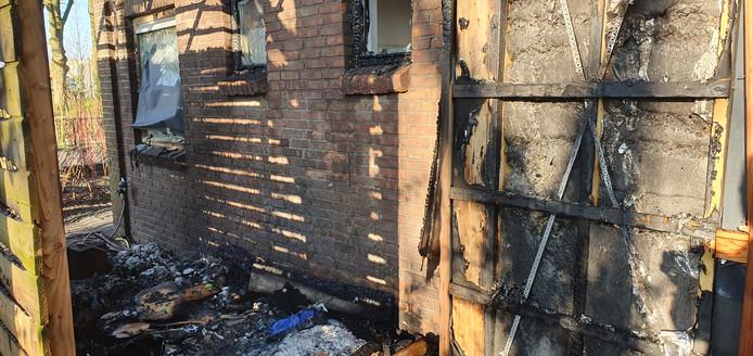 Brand bij kinderdagverblijf aan de Bernhardsingel Breda