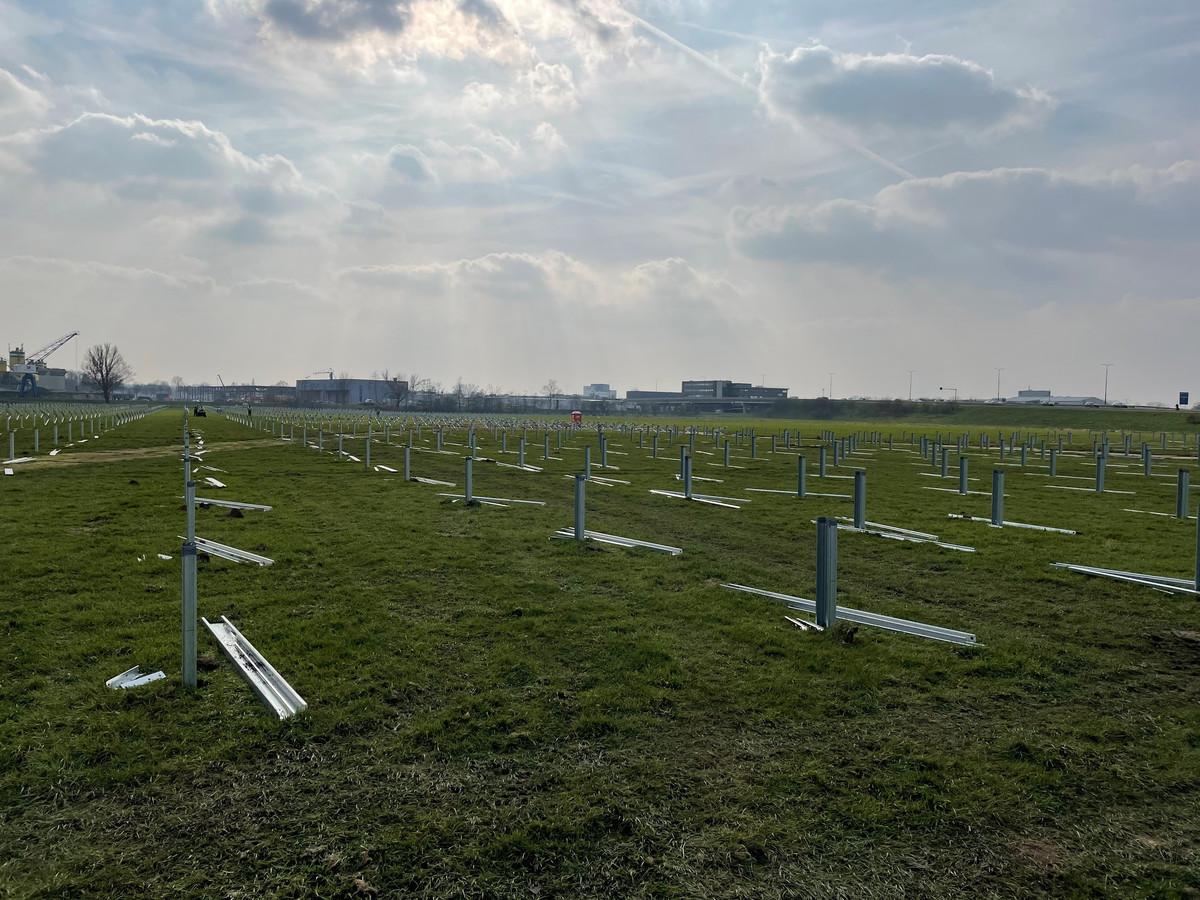 Vooralsnog ligt het eerste 'zonneveld' van Amersfoort er zo bij.