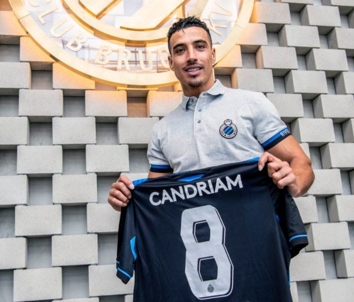 Nabil Dirar gaat bij blauw-zwart met het nummer 8 voetballen.