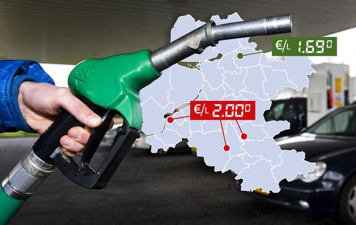 Wat betaal je bij het tankstation in Oost-Nederland voor een liter benzine? Wij zochten het voor je uit.