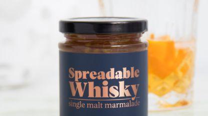 Whisky kan je voortaan op je boterham smeren