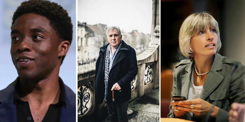 Overleden in 2020: Chadwick Boseman, Johny Voners en Ilse Uyttersprot Beeld Humo