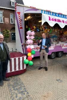 Al 100 jaar op de kermis van Diem met snoepgoed van Luilekkerland