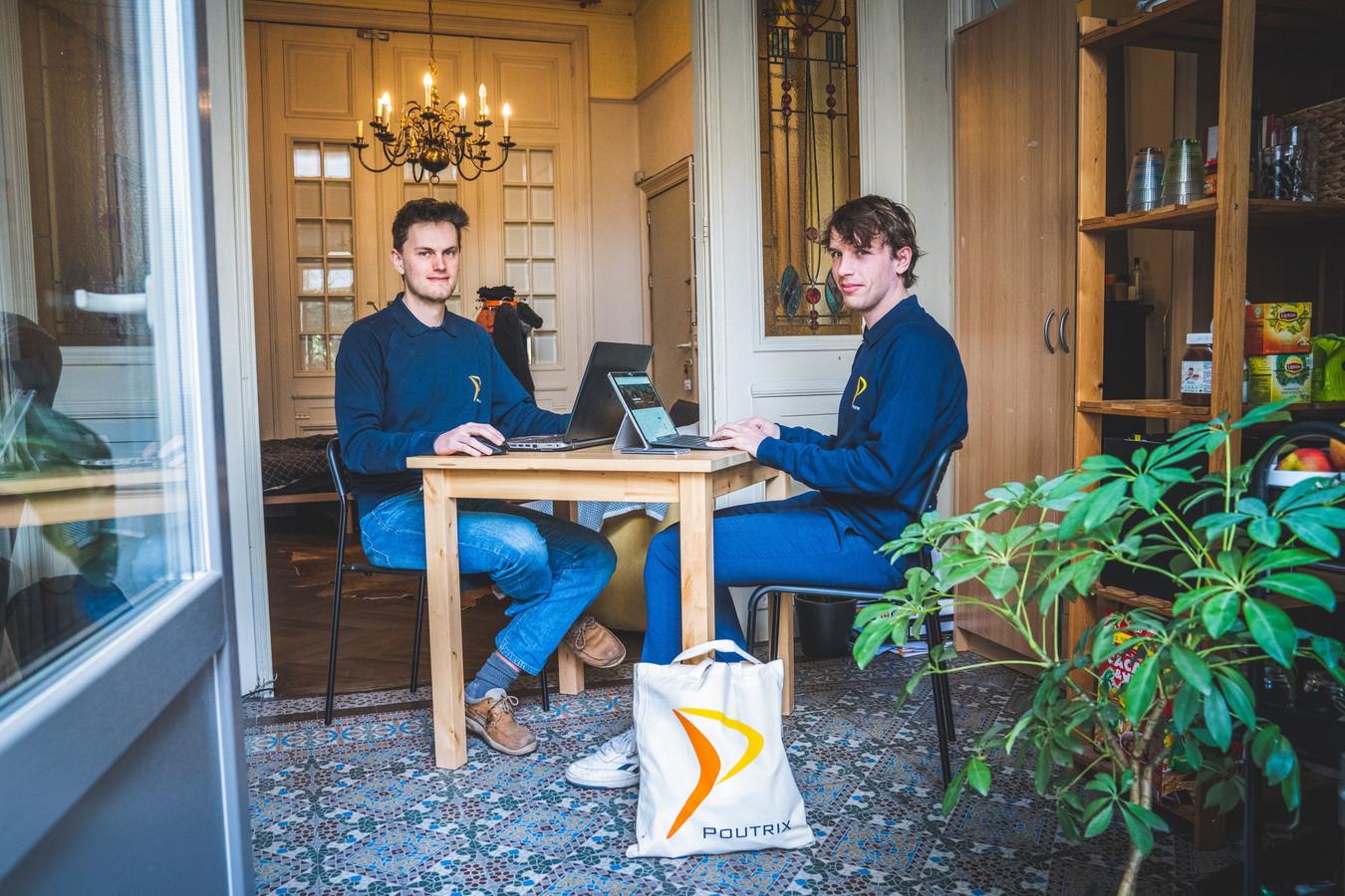 Poutrix-bestuursleden en organisatoren Thomas Meyers (l.) en Rian Denys (r.).