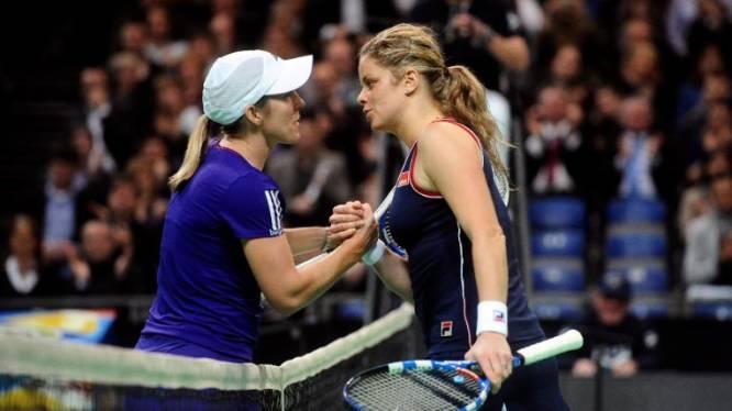 """Justine Henin encourage Kim Clijsters: """"Quel challenge !"""""""