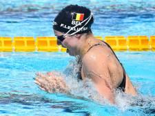 Aux Mondiaux, Fanny Lecluyse bat son record belge et se qualifie pour les demi-finales 100m brasse