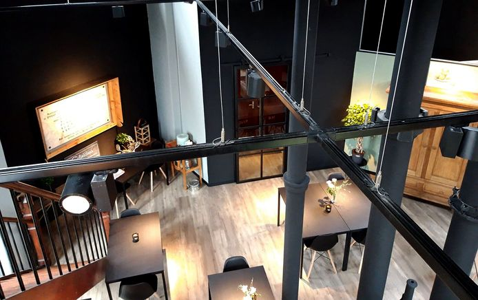 Culinicious houdt het kleinschalig in de watertoren in Roosendaal. Foto Annemieke de Bruijckere