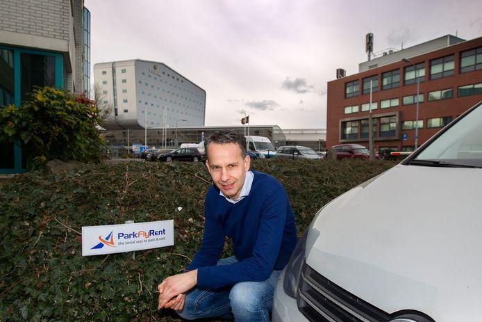 "Jochem de Boer van ParkFlyRent: ,,Het begint nu op gang te komen."" Foto Kees Martens/fotomeulenhof"