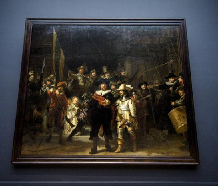 De Nachtwacht, de grootste schat van het Rijksmuseum Beeld anp