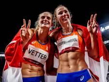 Vetter en Oosterwegel stunten met zilver en brons op zevenkamp: 'Echt onwerkelijk'