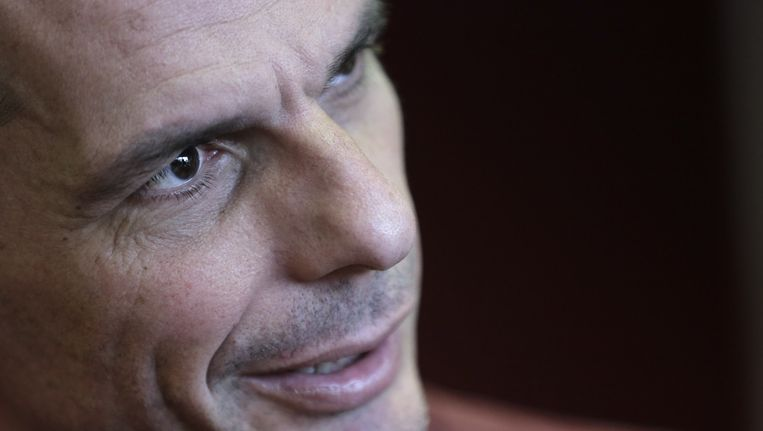 De Griekse minister van Financiën Yanis Varoufakis. Beeld ap