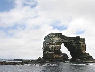 'Boog van Darwin' op Galapagoseilanden in elkaar gezakt door erosie