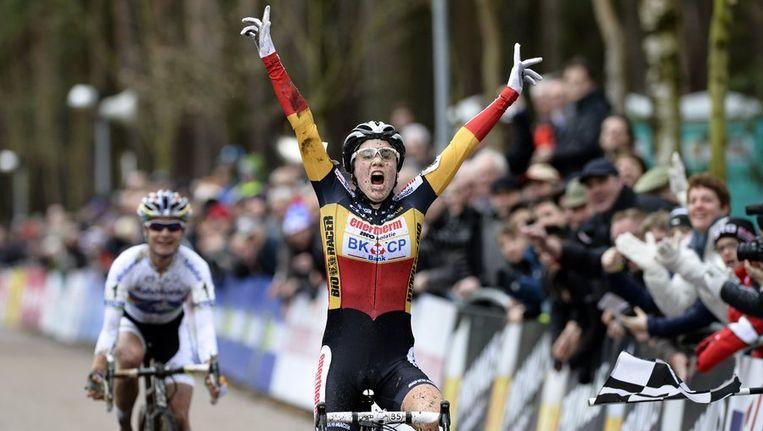 Sanne Cant versloeg Marianne Vos. Beeld PHOTO_NEWS