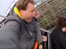 Simon (24) filmt 'bizar en doodeng moment' in achtbaan: 'Ik wil dit nooit meer meemaken'