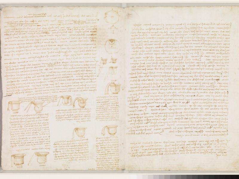 De Codex Leicester van Da Vinci.