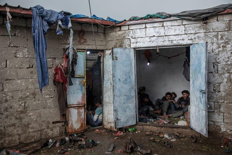 Enkele zorgverzekeraars investeren in wapenfabrikanten die betrokken lijken bij de oorlog in Jemen.  Beeld AP